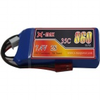 X-maxpower 7.4V 35C 860mAh RC li-po battery
