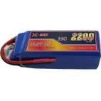 X-maxpower 14.8V 35C 2200mAh RC li-po battery