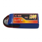 X-maxpower 11.1V 50C 1300mAh RC li-po battery
