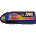 X-maxpower 11.1V 1600mAh 50C RC li-po battery