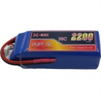 X-maxpower 14.8V 50C 2200mAh RC li-po battery